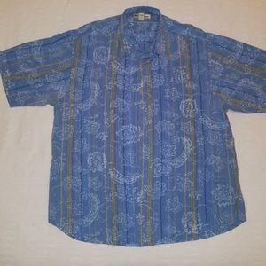 Men's Hawaiian style shirt by Tommy Bahama